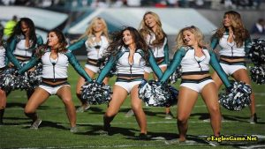 Philadelphia Eagles Cheerleaders 2017
