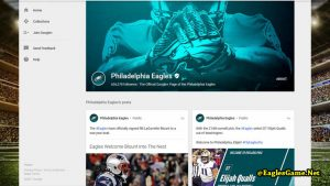 Philadelphia Eagles Google Plus Fans