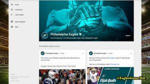 Philadelphia Eagles Google Plus Fans