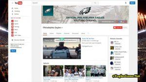 Philadelphia Eagles YouTube Fans