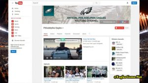 Philadelphia Eagles YouTube Fans