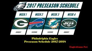Philadelphia Eagles Games TV Schedule