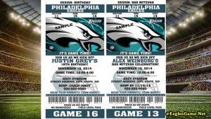 Philadelphia Eagles Games Tickets