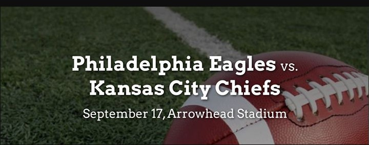 NFL Reg Week 2 Game Battle: Eagles Chiefs Prediction