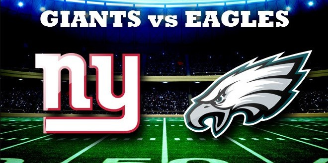 2017 Eagles vs Giants Win-Loss Game Prediction