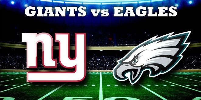 2017 Eagles vs Giants Win-Loss Game Prediction
